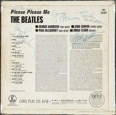 The Beatles Signed Autographed Please Please Me Graded MINT 9 PSA/DNA