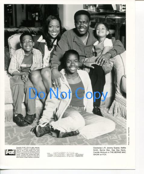 The Bernie Mac Show Cast Jeremy Suarez Dee Dee Davis Original Still Press Photo