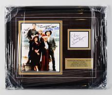 The Beverly Hillbillies (Full Cast) Signed 16×20 Photo Display – COA JSA