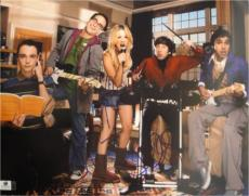 The Big Bang Theory Cast Signed 11x14 Photo Kaley Cuoco Parsons Galecki GA769734