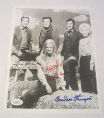 The Big Valley Cast Barbara Stanwick Signed Autographed Photo Lee Majors JSA COA