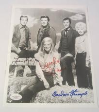The Big Valley Cast Barbara Stanwick Signed Autographed Photo Lee Majors JSA COA
