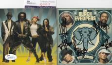 The Black Eyed Peas group signed *Elephunk* CD cover JSA Authenticated Q30619