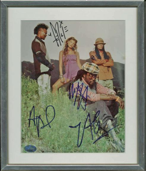 The Black Eyed Peas Signed Autographed 11x14 Photograph Fergie PSA/DNA