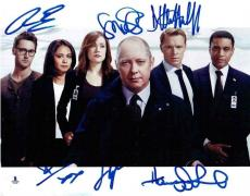 The Blacklist Boone Spader Lennix +3 Autographed Signed 11x14 Photo BAS COA