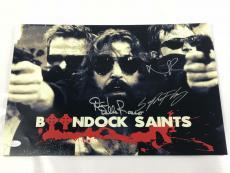 The Boondock Saints 12x18 Photo Signed Norman Reedus + More Autograph JSA COA