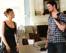 "THE BOUNTY HUNTER"" Signed by GERARD BUTLER as MILO BOYD and JENNIFER ANISTON as NICOLE HURLEY 10x8 Color Photo"