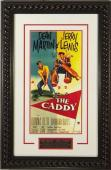 The Caddy unsigned 20x28 Masterprint Vintage Movie Poster Custom Rope Framed w/ Dean Martin & Jerry Lewis (entertainment/photo)
