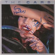 The Cars Autographed The Cars Album Cover with 4 Signatures - JSA