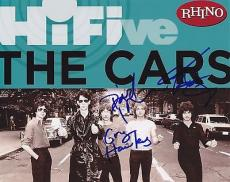 The Cars Group Signed 8x10 Photo w/COA Ocasek Hawkes A