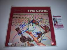 The  Cars Heartbeat City 4sigs Jsa/coa Signed Lp Record Album