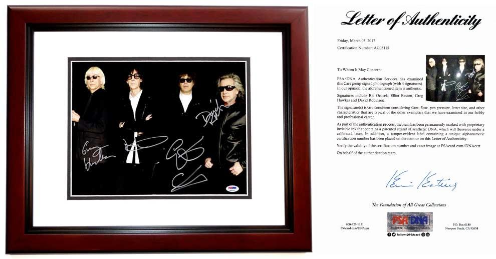 The Cars Group Signed - Autographed Rock Band 11x14 inch Photo by ...