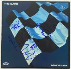 The Cars Signed Autographed Panorama Album LP OCASEK HAWKES+2 PSA/DNA