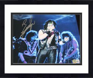 THE CATMAN Eric Singer signed 11 x 14, KISS, Alice Cooper, Proof, COA