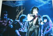 THE CATMAN Eric Singer signed 11 x 14, KISS, Alice Cooper, Proof, COA