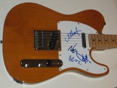 THE CRANBERRIES w/ Dolores O'Riordan Group Signed FENDER Tele. GUITAR + PSA DNA