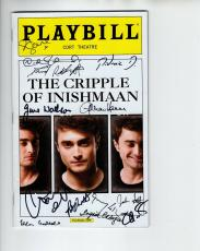 The Cripple Of Inishmaan Hand Signed Ny City Playbill+coa      Daniel Radcliffe