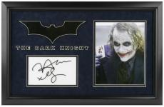 The Dark Knight Framed Photograph with Engaved Facsimile Signature