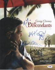 The Descendants (8) George Clooney Signed 11x14 Photo Psa/dna #s09049