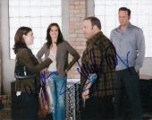 THE DILEMMA cast signed 8X10 photo W/COA (VAUGHN, RYDER, JAMES, & CONNELLY) RARE