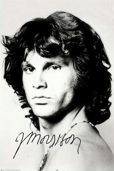 The Doors Facsimile Signed Jim Morrison The Doors Shoulder Poster