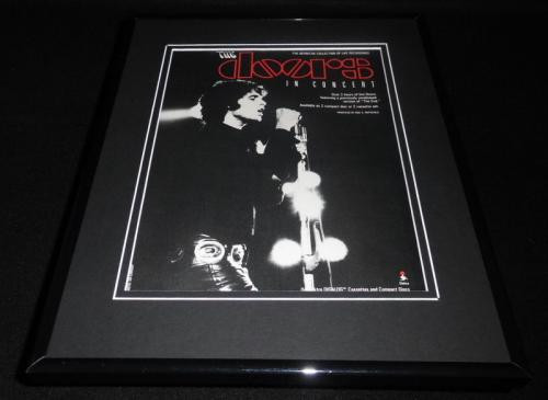 The Doors in Concert 1991 Framed 11x14 ORIGINAL Advertisement Jim Morrison