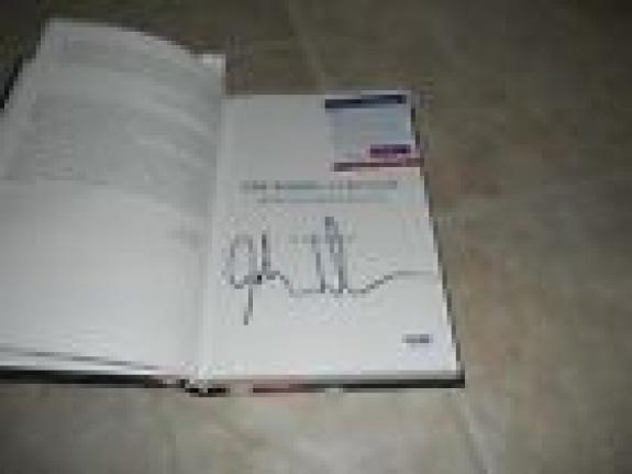 The Doors John Densmore Signed Autographed Unhinged Hard Book PSA Certified