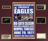 The Eagles Signed Autographed 20x24 Signature Display Walsh Henley Frey JSA