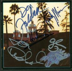 The Eagles Signed Autographed Hotel California CD Walsh Henley Frey +2 JSA
