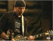 The Edge Signed Authentic Autographed 11x14 Photo PSA/DNA #AB24582