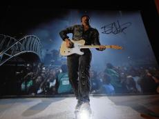 THE EDGE SIGNED AUTOGRAPH 11x14 PHOTO ELEVATION COA AUTO RARE IN PERSON U2 COA