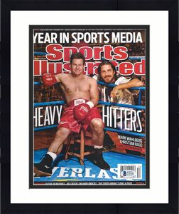 THE FIGHTER MARK WAHLBERG signed autographed SPORTS ILLUSTRATED BECKETT COA