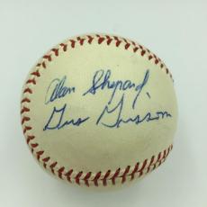 The Finest Mercury 7 Astronauts Signed Baseball Alan Shepard Grissom Schirra JSA