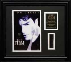 The Firm Framed 8x10 Photo with Filmstrip and Descriptive Plate