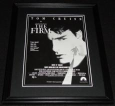 The Firm Tom Cruise 1993 11x14 Framed ORIGINAL Advertisement