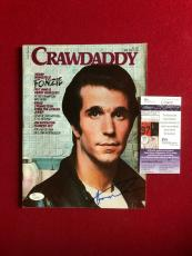 "The Fonz""- Henry Winkler, ""Autographed"" Crawdaddy Magazine"