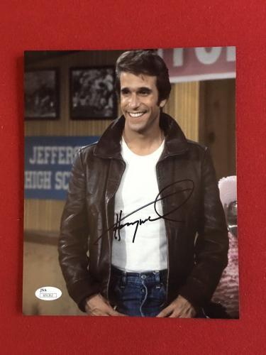 """The Fonz (Henry Winkler), """"Autographed"""" (JSA) 8x10 Photo"""