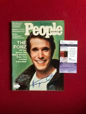 "The Fonz""- Henry Winkler, ""Autographed"" ""People"" Magazine"