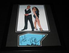 The Game Pooch Hall & Tia Mowry Hardrict Dual Signed Framed 11x14 Photo Display