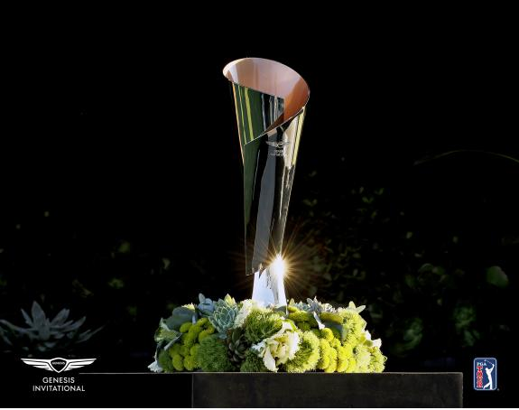 The Genesis Invitational Unsigned Trophy Photograph