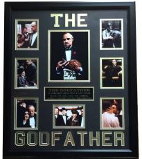 The Godfather 8 photo collage custom made 23x27 framed Al Pacino Marlon Brando