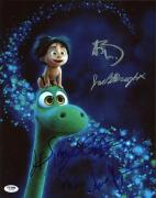 The Good Dinosaur (Anna Paquin, Sam Elliott, +4) Signed 11X14 Photo PSA #AB10795