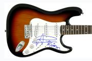 The Good The Bad & The Queen Autographed Guitar PSA/DNA    AFTAL