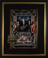 THE GREAT GATSBY Leonardo DiCaprio Signed Framed Display
