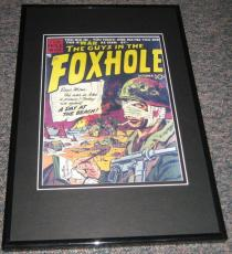 The Guys in the Foxhole Framed Cover 9x12 Poster Photo Official Repro