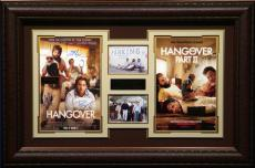 The Hangover 1 & 2 Cast Signed Home Theater Display