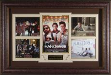 The Hangover Cast Signed Home Theater Display with Mike Tyso