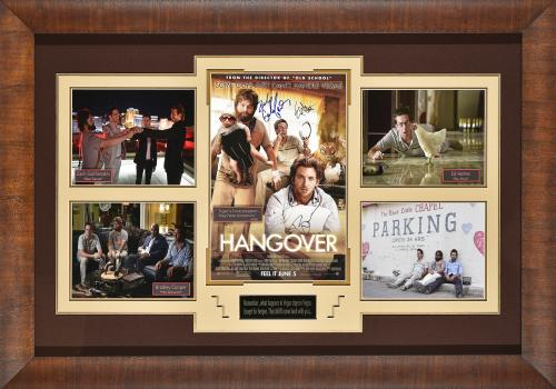 The Hangover Signed Display. 44×31.