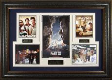 The Hangover Trilogy Cast Signed Poster Framed Display
