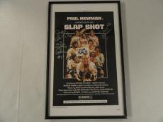 "The Hanson Brothers Signed Framed ""slap Shot"" 11x17 Movie Poster All 3 Rare"